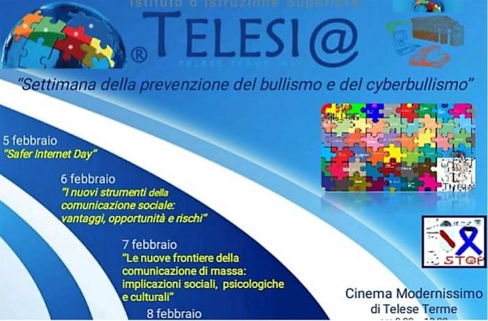 L'Istituto Federico Torre di Benevento al Progetto di Lotta al Bullismo.
