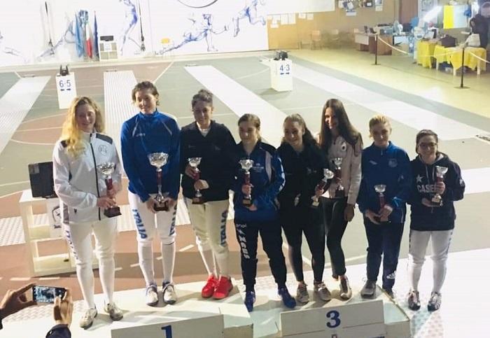 Accademia Olimpica Antonio Furno: Francesca Boscarelli vince la tappa di Caserta del Trofeo del Sabato.