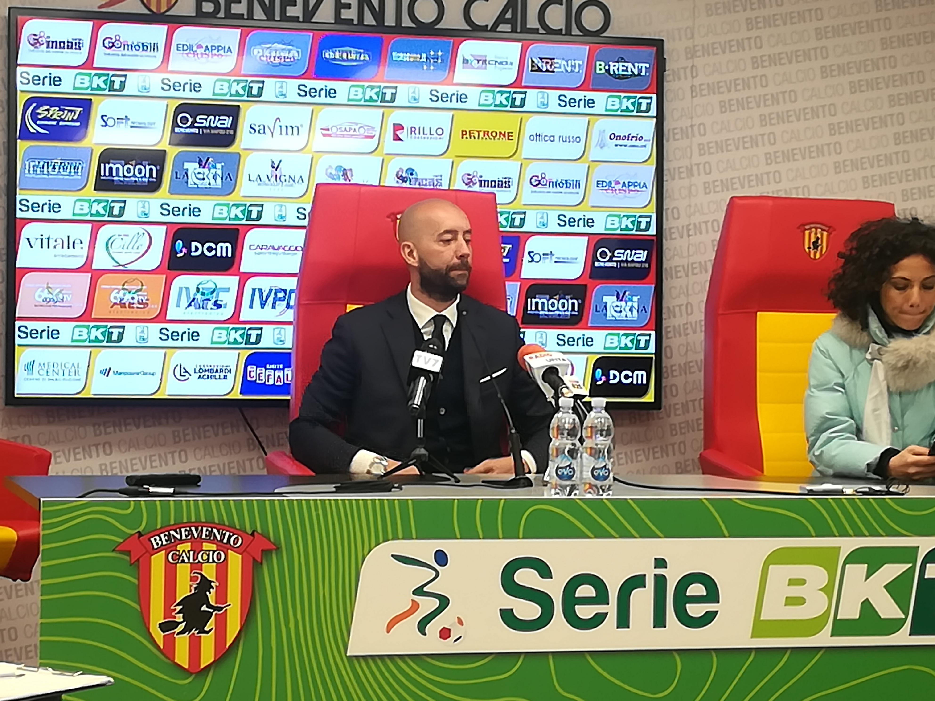 La disamina di Bucchi della partita Benevento – Spezia 2 a 3