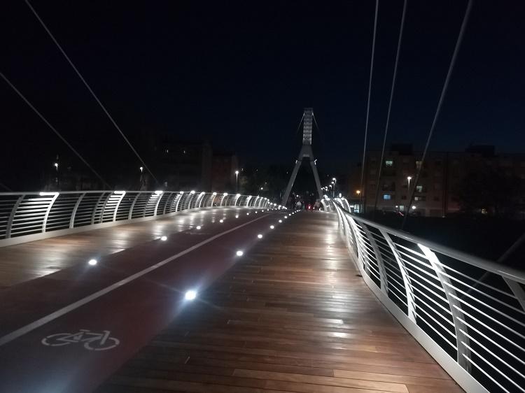 Inaugurato il ponte ciclopedonale intitolato al cantante lirico beneventano Silvano Pagliuca
