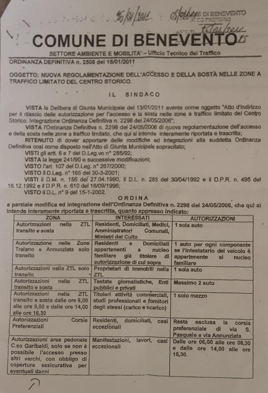 """M5S : """"Per Mastella le bici al Corso no ma auto e camion si"""""""
