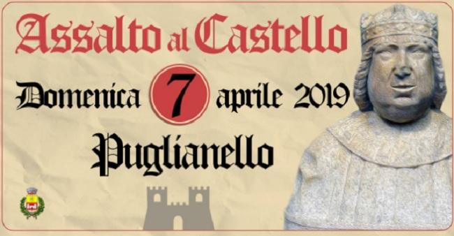 Assalto al Castello, Domenica 7 Aprile la Rievocazione Storica a Puglianello.