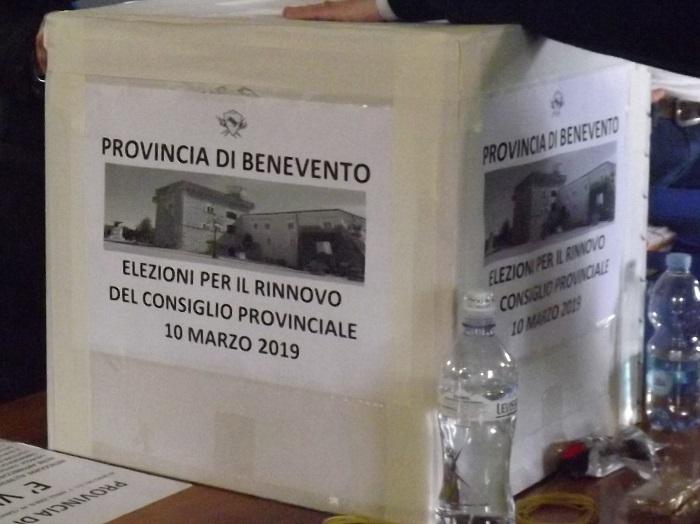 Gli eletti al Consiglio Provinciale di Benevento. Sette su dieci al centrodestra