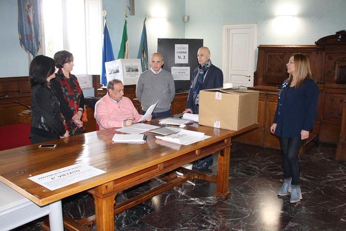 Elezioni provinciale. Si è insediato il seggio elettorale