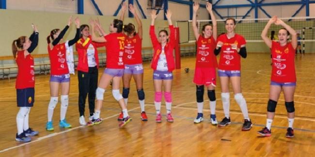 Icaro Accademia Volley in casa contro Pontecagnano.