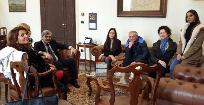Rispetto e tutela delle Pari Opportunità,l'associazione #AvantiDonne,incontra il Prefetto Antonio Cappetta