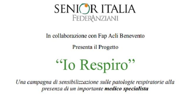 """A Torrecuso """"Io Respiro"""", campagna di prevenzione sulle patologie respiratorie."""