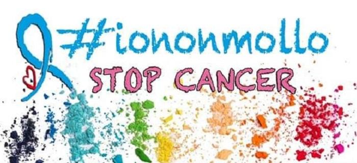 """Nasce l'associazione : """"#iononmollo- Stop Cancer"""" con finalità Onlus."""