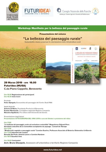 """Futuridea: Ancora un riconoscimento per """"Il Manifesto per la bellezza dei paesaggi rurali"""""""
