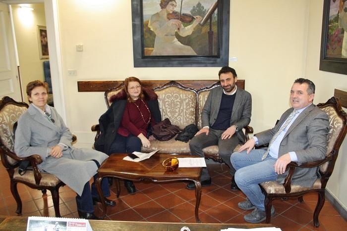 I parlamentari del M5S a colloquio con il presidente Di Maria