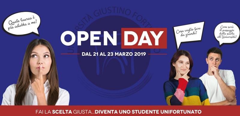 Open Day all'Unifortunato.Sarà dedicato agli studenti interessati un percorso di presentazione guidata.