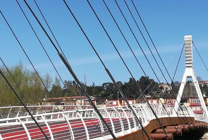 Giovedì cerimonia d'inaugurazione del nuovo ponte didattico ciclo-pedonale S. Maria degli Angeli – Rione Libertà.