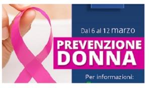 """La Asl Benevento adersce all'iniziativa """"Settimana della prevenzione"""" rivolta alle donne."""