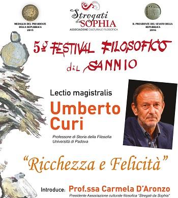 """""""Stregati da Sophia"""" presenta il settimo appuntamento del 5°Festival Filosofico del Sannio."""