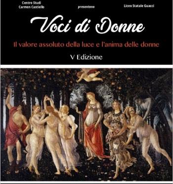 """""""Voci di Donne"""".Centro Studi Danza Carmen Castiello e Liceo musicale Guacci insieme per narrare le donne."""