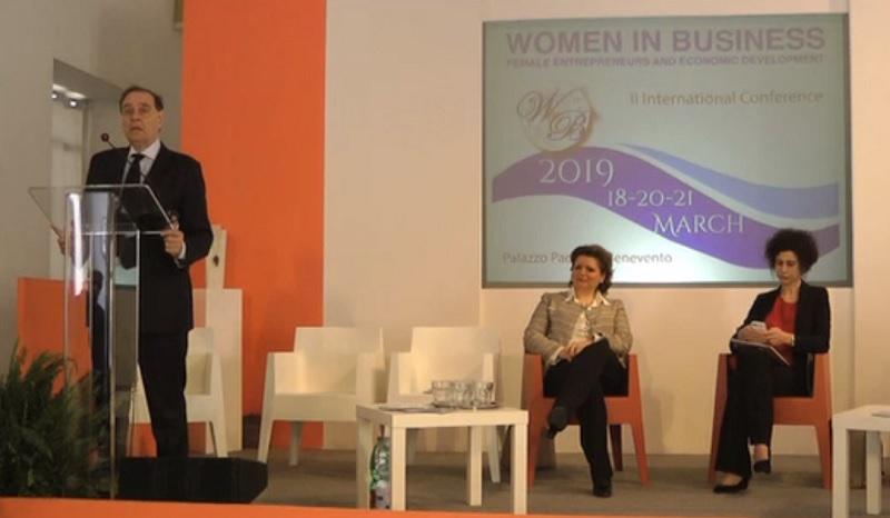 """""""Women in Business"""" Todini racconta il ruolo assunto dalla donna nel mondo dell'imprenditoria mondiale"""