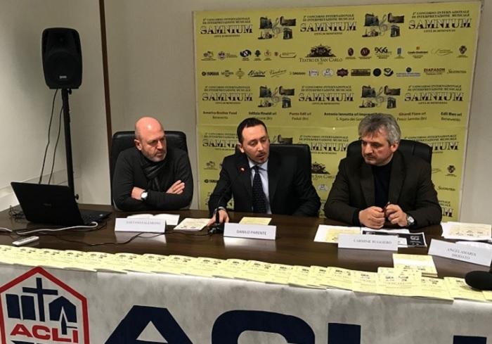 """Conservatorio """"Nicola Sala"""" di Benevento, gli auguri delle ACLI di Benevento al Presidente Antonio Verga."""