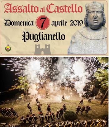 Puglianello, domani Conferenza di Presentazione dell'Assalto al Castello.