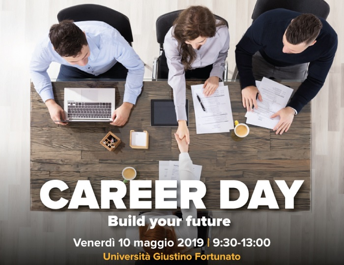 Il 10 Maggio torna il Career Day Unifortunato con oltre 60 aziende.