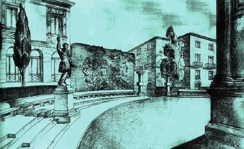 """Benevento, Isidea: """"Nei fondi PICS l'occasione per spostare la statua di Traiano"""""""