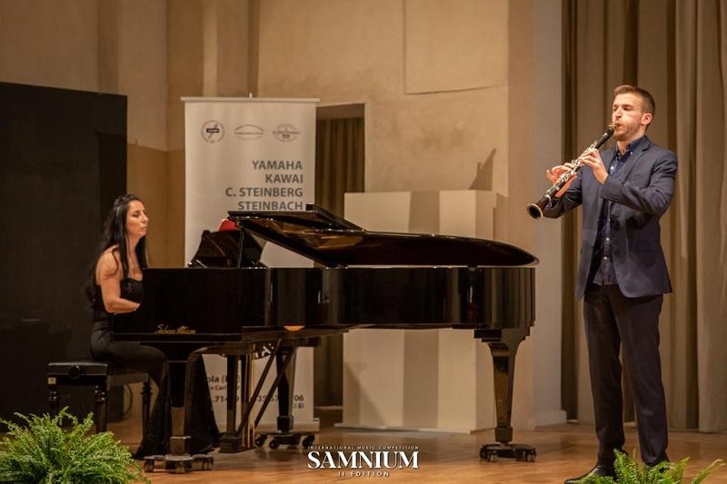 """Concorso Internazionale Musicale """"Samnium"""" ecco i vincitori della sezione Clarinetto """"Senior""""."""