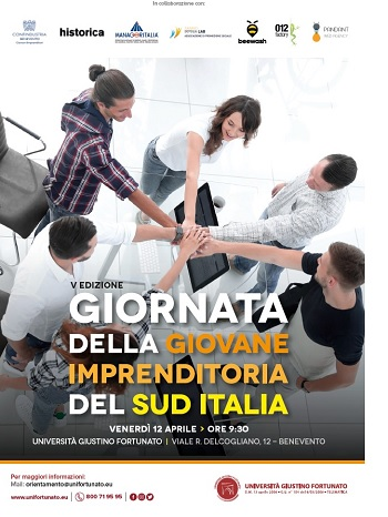 """Unifortunato: venerdì 12 Aprile """"Giornata della Giovane Imprenditoria del Sud Italia"""""""