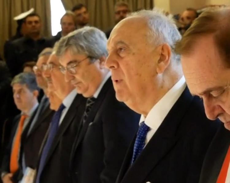 Convegno sull'art.97 della Costituzione.  Il presidente della Corte costituzionale Giorgio Lattanzi. a Benevento