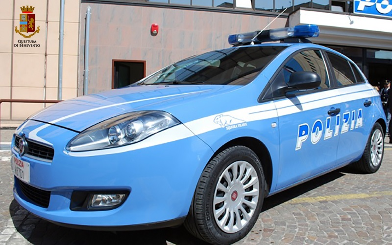 Polizia di Stato: pregiudicato beneventano sottoposto ai domiciliari arrestato per evasione.