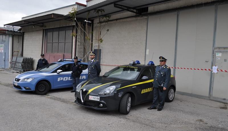 Limatola: sequestrato opificio abusivo con operai irregolari