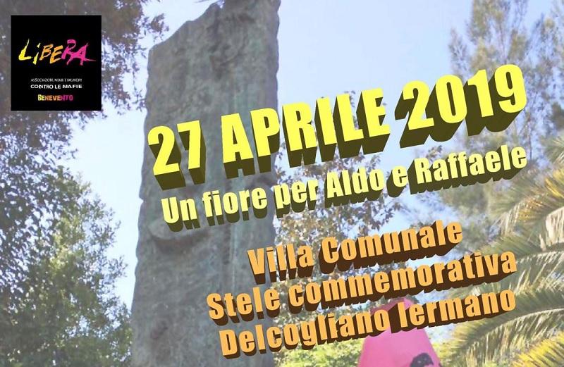 Benevento ricorda Delcogliano e Iermanno uccisi dalle Brigate Rosse il 27 aprile del 1982.