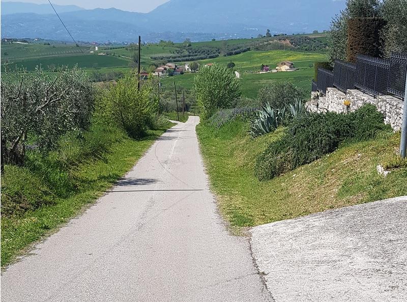 """Riqualificazione della Strada """"Cammino della Pace"""". A Pietrelcina approvato il finanziamento di 1.245.575,04 Euro."""