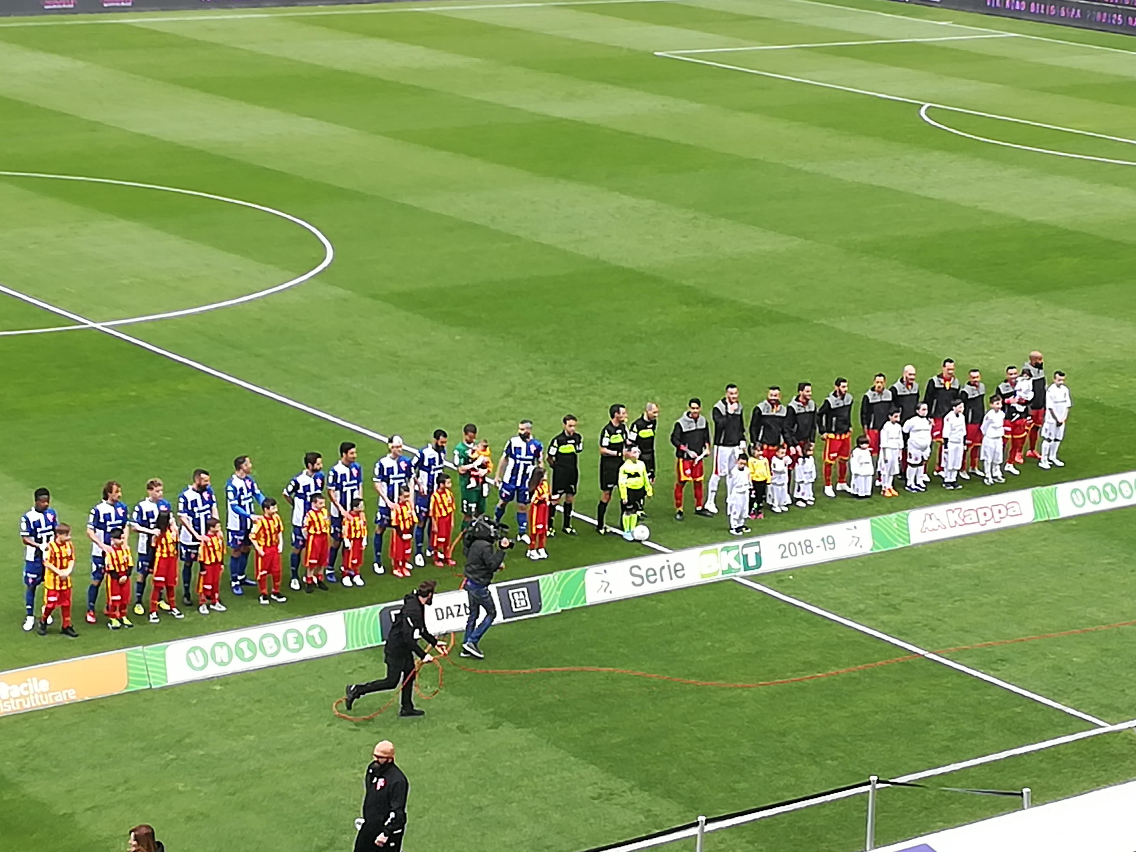 Benevento e Padova si dividono la posta. Benevento 3 Padova 3