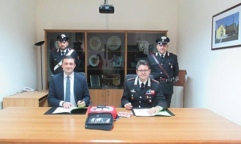Benevento: siglato accordo di collaborazione tra Croce Rossa e Arma dei Carabinieri.