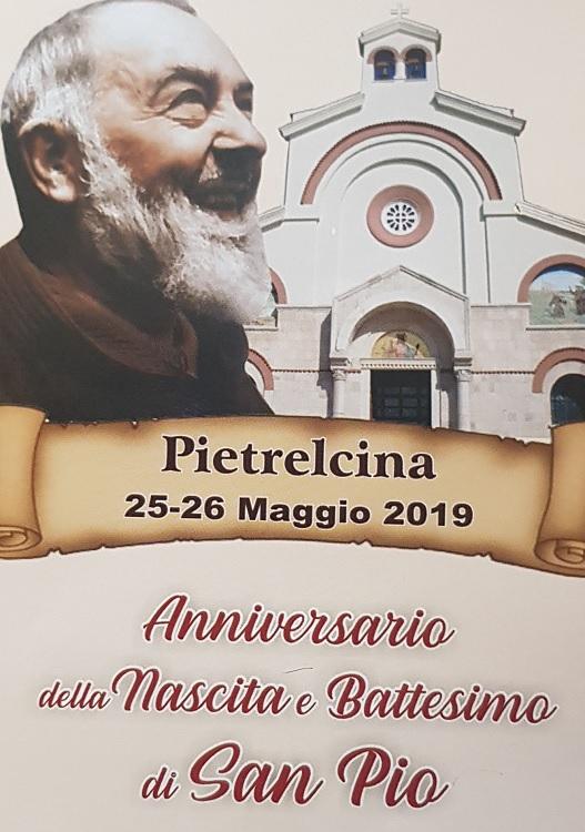 Pietrelcina. Tutto pronto per il 132° anniversario della Nascita e Battesimo di San Pio