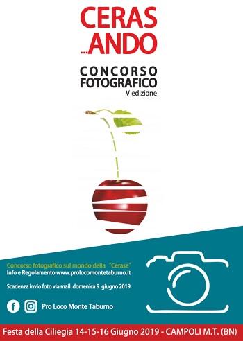 """Al Via la Quinta edizione del concorso fotografico """"Ceras…ando"""" organizzata dalla Pro loco Monte Taburno"""