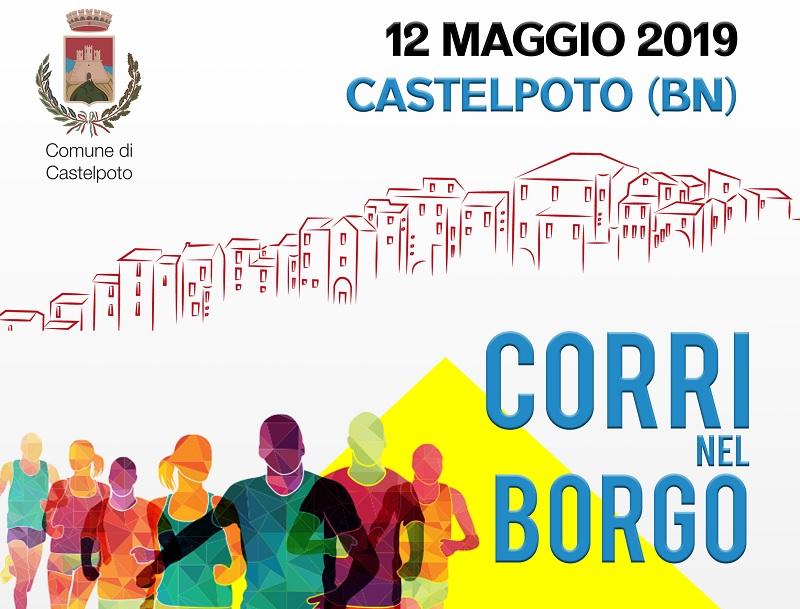 """Tutto pronto a Castelpoto per la prima gara podistica """"Corri nel Borgo"""""""