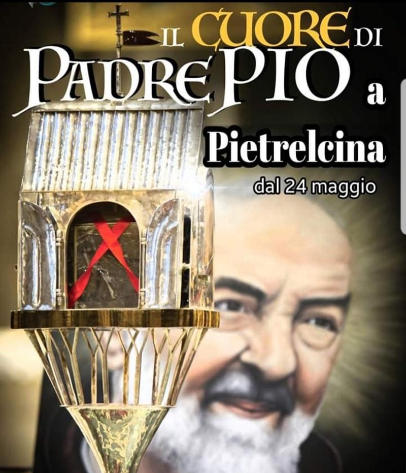 Il cuore di Padre Pio: altri due giorni nel Suo paese natale.
