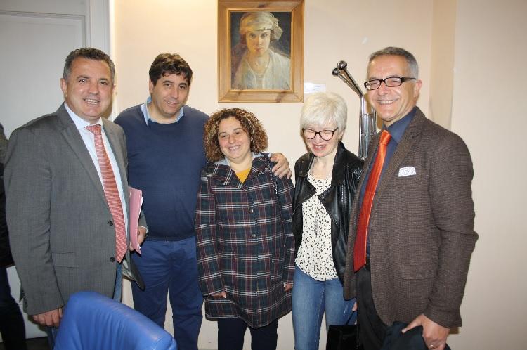"""Il comitato """"Curiamo la Vita"""" ricevuto dal Presidente della Provincia Antonio De Maria"""