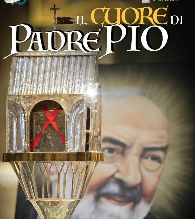 """Pietrelcina. """"Il Cuore di Padre Pio"""": il gran ritorno della sacra reliquia"""