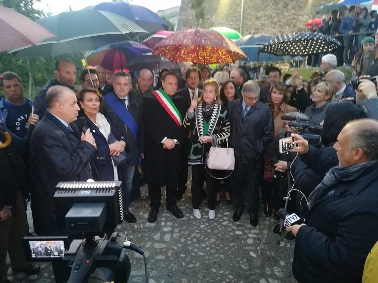 Benevento. Inaugurato il Ponte di Via Torre della Catena intitolato all'avv. Antonio Tibaldi