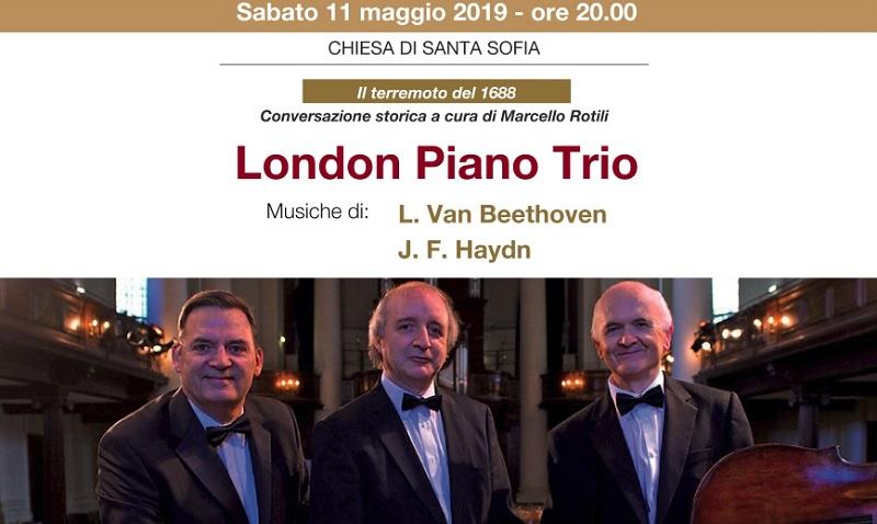 Accademia Santa Sofia.Le note internazionali del Piano Trio di Londra a Benevento