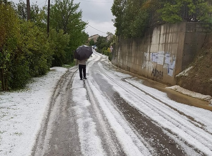 Allerta Meteo nel Sannio mentre già cade la neve