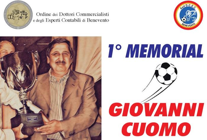 """1° Memorial """"Giovanni Cuomo"""" triangolare di calcio a 11 tra gli Ordini dei Dottori Commercialisti"""
