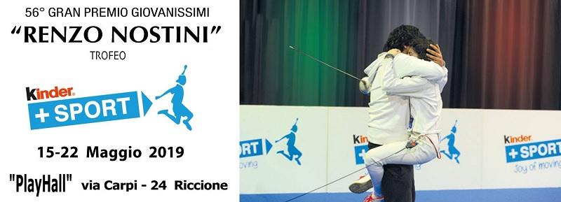 """Accademia Olimpica Beneventana di Scherma Maestro Antonio Furno al 56° Gran Premio Giovanissimi """"Renzo Nostini"""""""