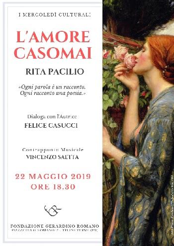 Conversazione con Rita Pacilio presso la Fondazione Gerardino Romano