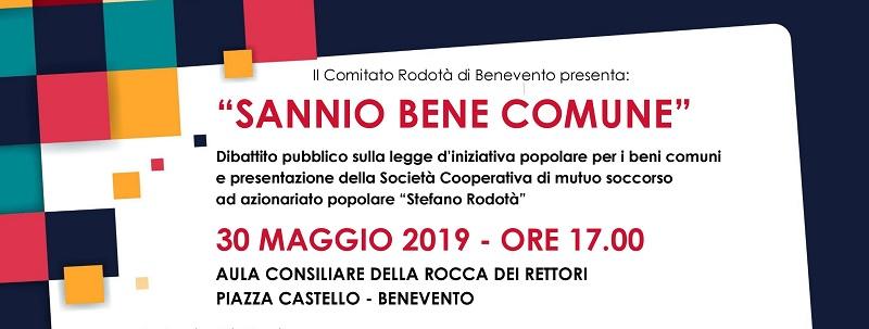 Legge di iniziativa popolare Comitato Rodotà. Incontro pubblico di Presentazione il 30 maggio.