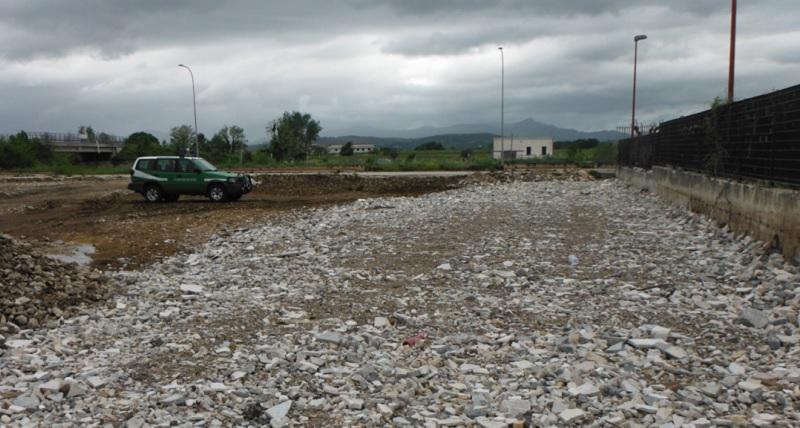 San Salvatore Telesino Gestione illecita Rifiuti: i Carabinieri Forestali Sequestrano Terreno in Area PIP