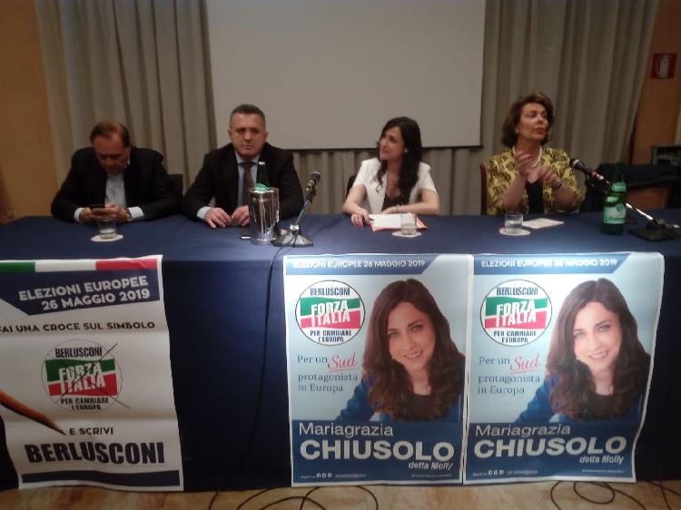 Molly Chiusolo chiude la sua campagna elettorale in un tripudio generale