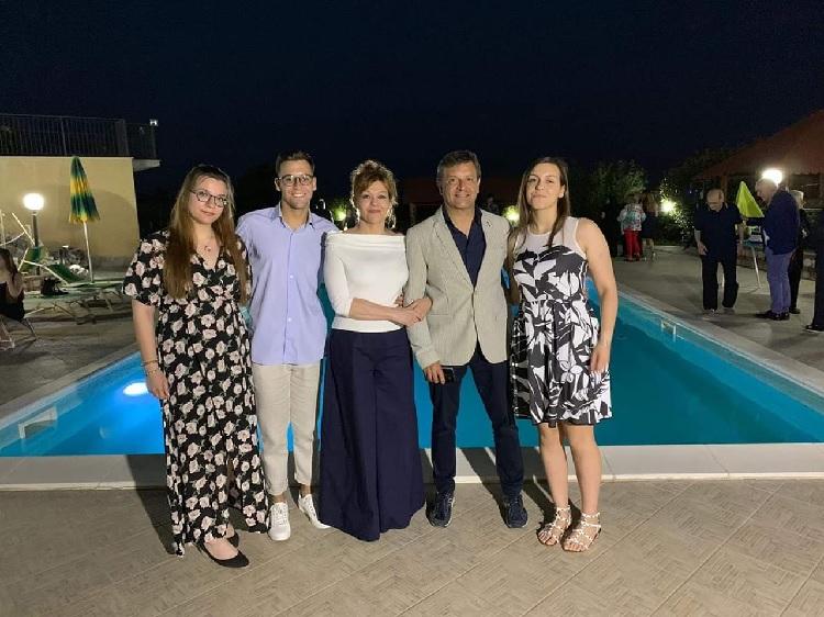 Fioravante Bosco festeggia i suoi 30 anni di matrimonio
