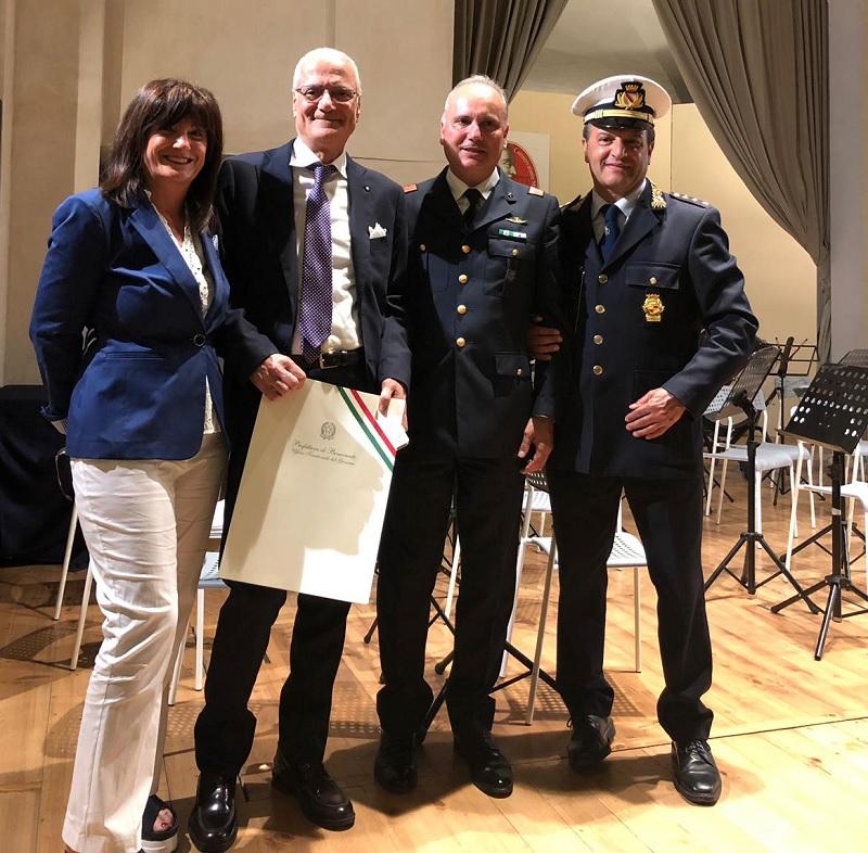 Polizia Municipale: Nomina a Cavaliere di Antonio Dell'Aquila.